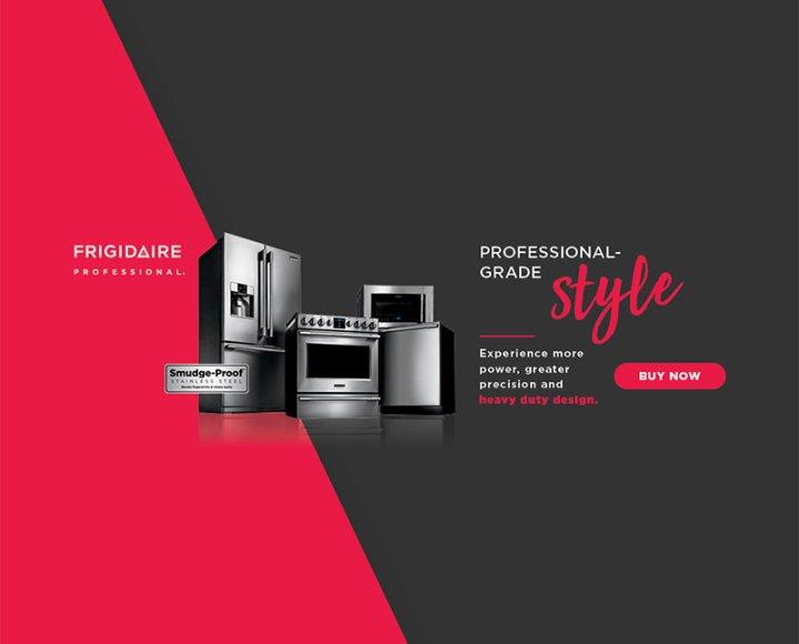Frigidaire Professional Evergreen 2018