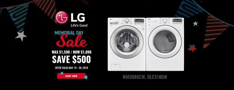 LG NECO Exclusive Memorial Day 2018