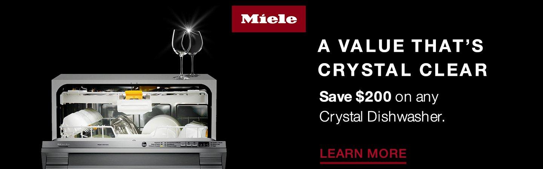 Miele Crystal Dishwasher Savings 2019