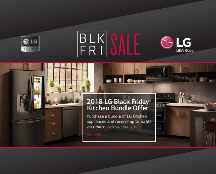 LG Black Friday Kitchen 2018