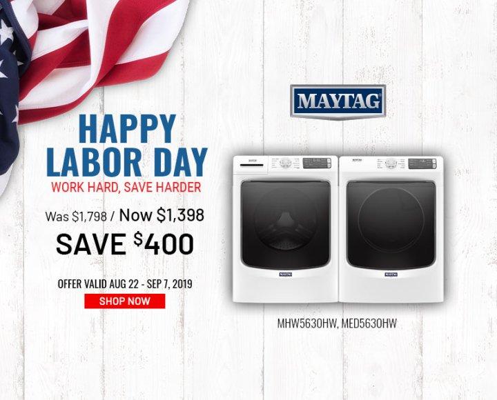 Maytag NEAEG Labor Day 2019