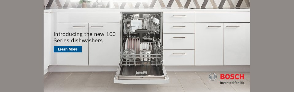 Bosch 100 Series Dishwasher July 2018