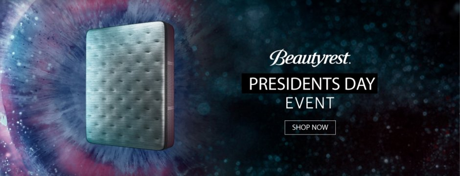 Beautyrest Organic Presidents Day 2019