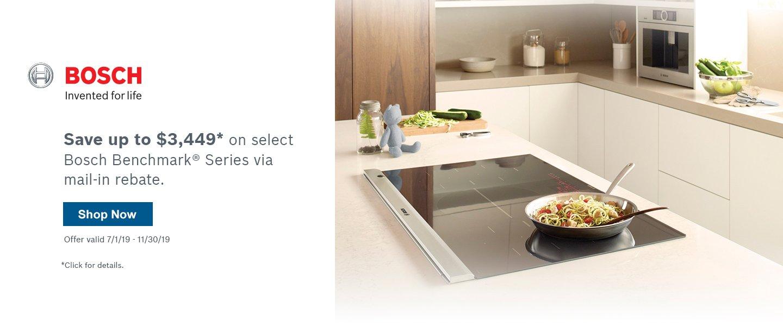 Bosch Benchmark Kitchen Suite Rebate Q3 2019