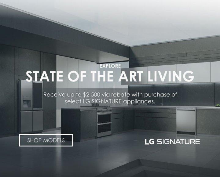 LG SIGNATURE Summer Bundles 2018
