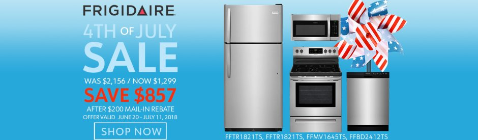 Frigidaire NECO Exclusive 4th of July 2018