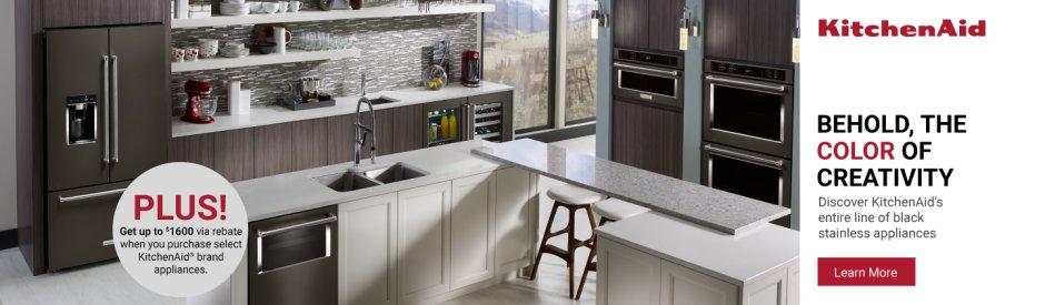 KitchenAid Black Stainless Steel 2018