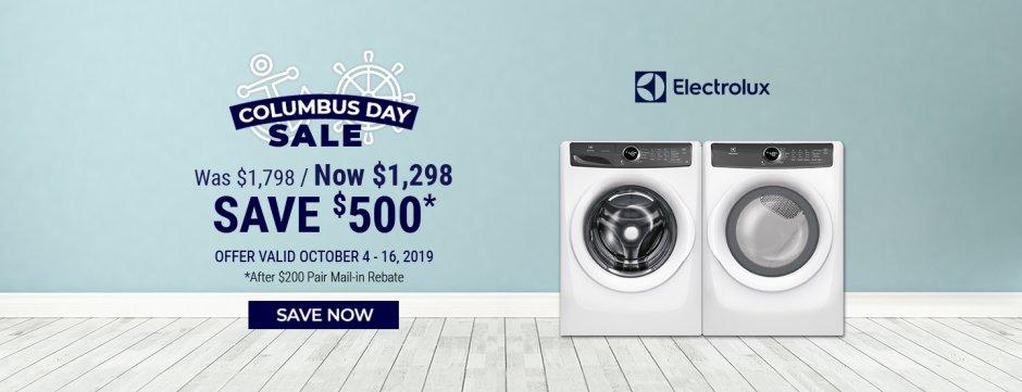 Electrolux & Frigidaire NEAEG Columbus Day 2019