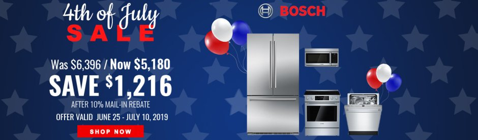 Bosch NEAEG July 4th 2019