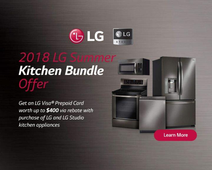 LG Summer Kitchen Bundle May 2018