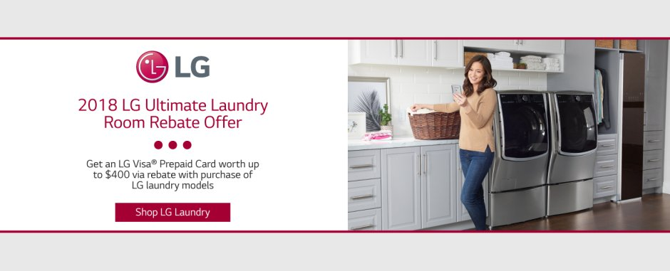 LG Ultimate Laundry Room July 2018