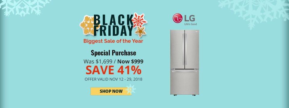 LG NECO Exclusive Black Friday 2018