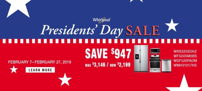 Whirlpool ADC & DMI Presidents Day 2019