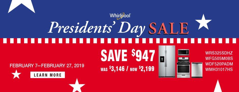 Whirlpool ADC & DMI Presidents Day 2019