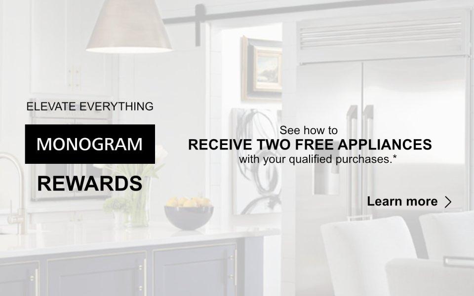 GE Monogram Rewards  July 2018