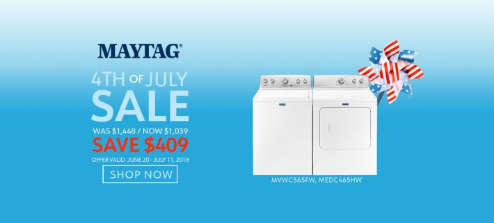 Maytag NECO Exclusive 4th of July 2018