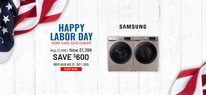 Samsung NEAEG Labor Day 2019
