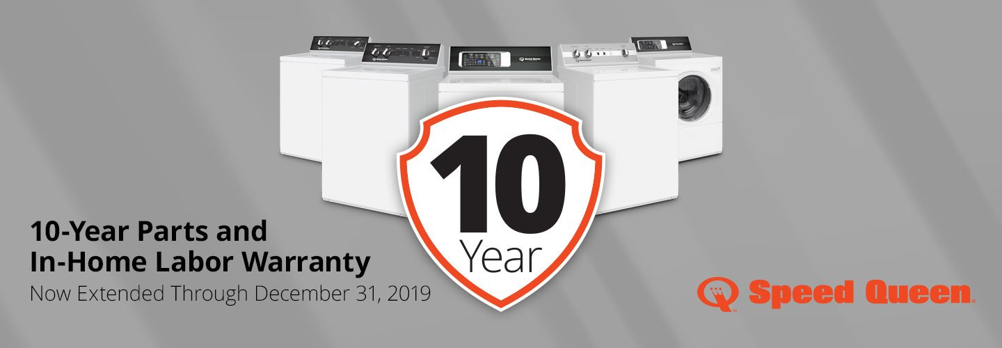 Speed 10 Year Warranty 2019