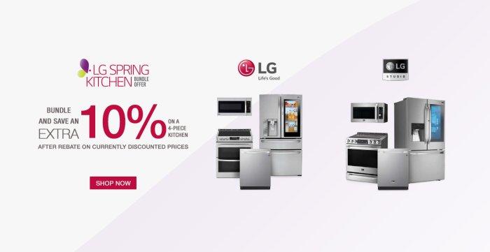 LG Spring Kitchen Bundle 2019