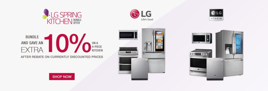 LG Spring Kitchen Bundle 2019