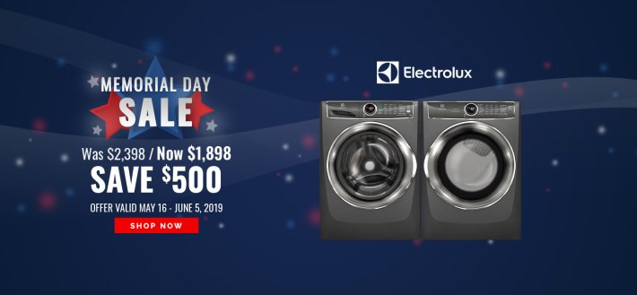 Frigidaire / Electrolux Memorial Day NEAEG Exclusive 2019
