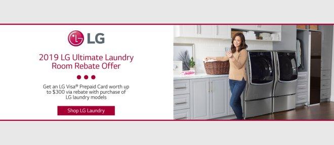 LG Ultimate Laundry Room Feb 2019