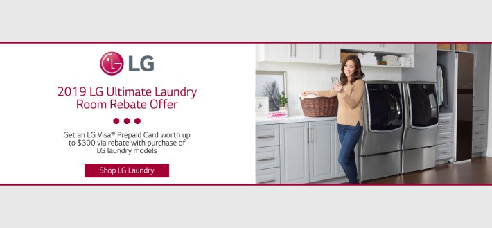 LG Ultimate Laundry Room Feb 2019