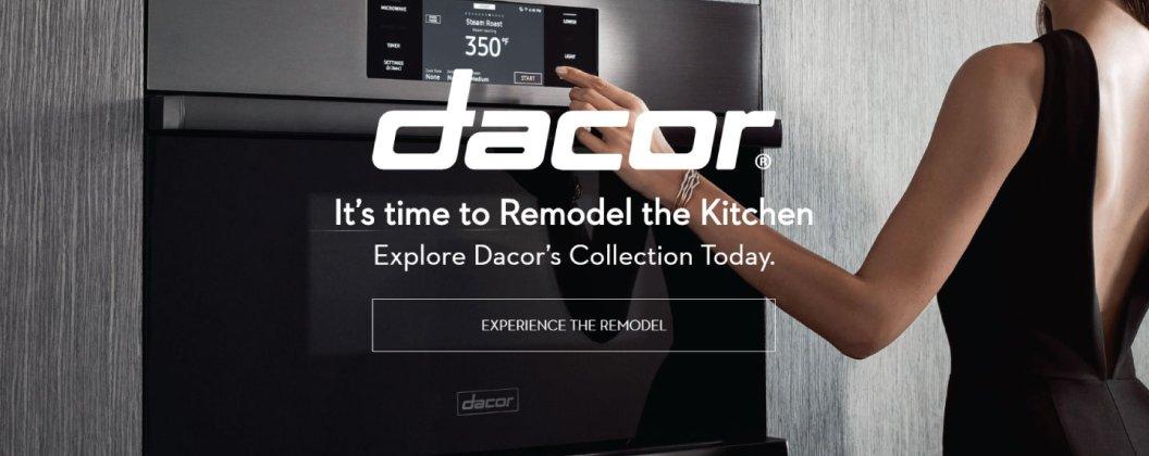 Dacor Brand Landing Page 2018