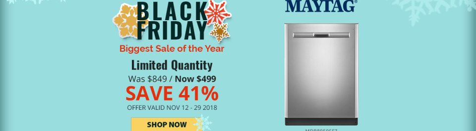 Maytag NECO Exclusive Black Friday 2018