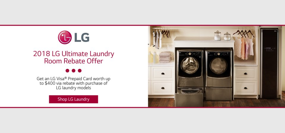 LG Ultimate Laundry Room May 2018