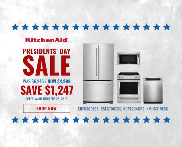 KitchenAid NECO Exclusive Presidents Day 2018