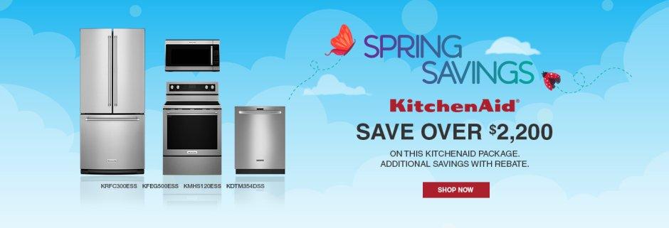KitchenAid Spring Savings NEAEG Exclusive 2019