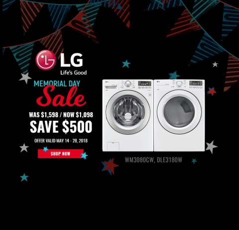 LG NECO Exclusive Memorial Day 2018