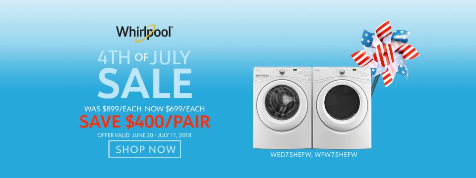 Whirlpool NECO Exclusive 4th of July 2018