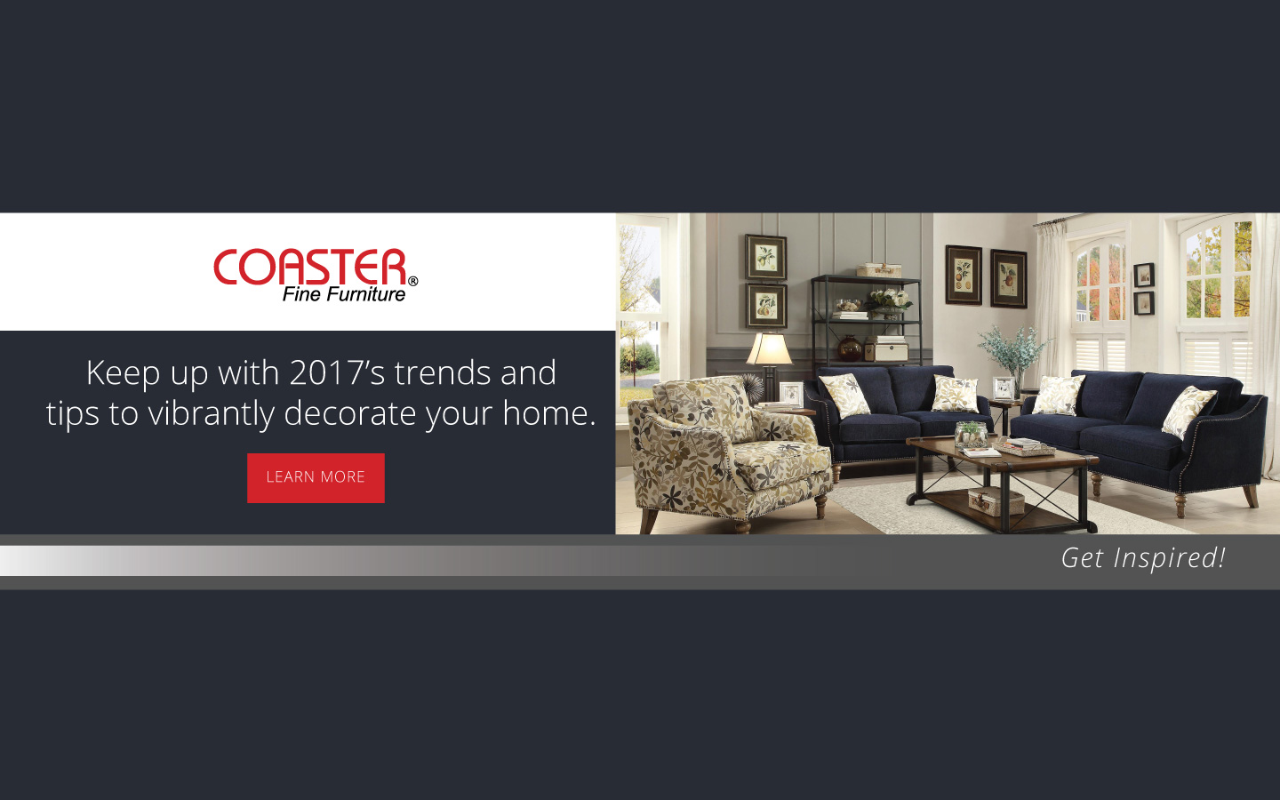 Coaster Brand Landing Page 2017 · Synchrony Financial · Shop Jackson  Furniture