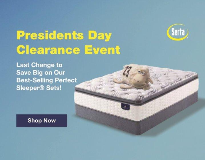 Serta Perfect Sleeper Presidents Day 2019