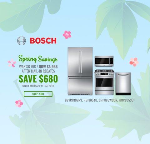 Bosch NECO Exclusive Earth Day 2018