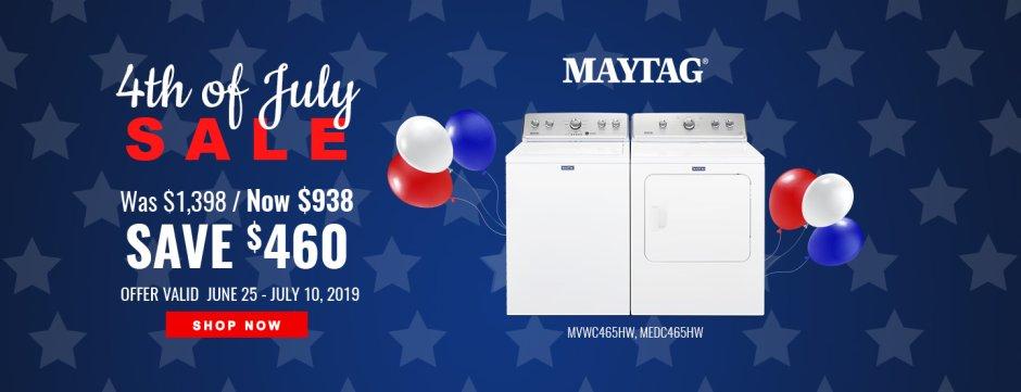 Maytag NEAEG July 4th 2019