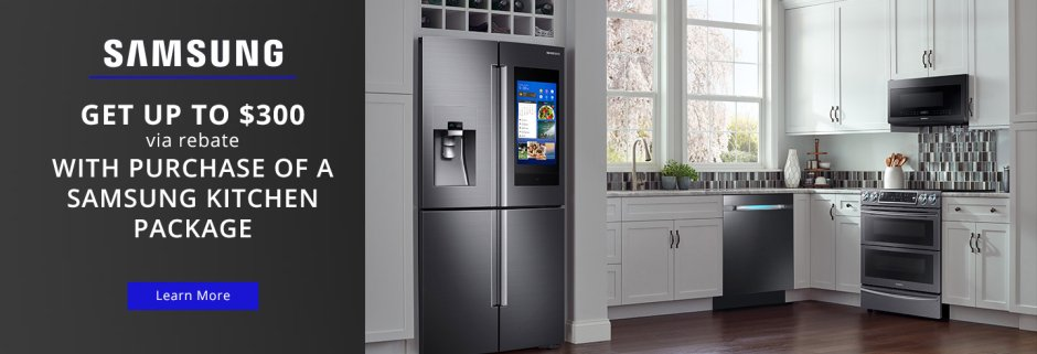 Samsung $300 Summer Kitchen Package 2018