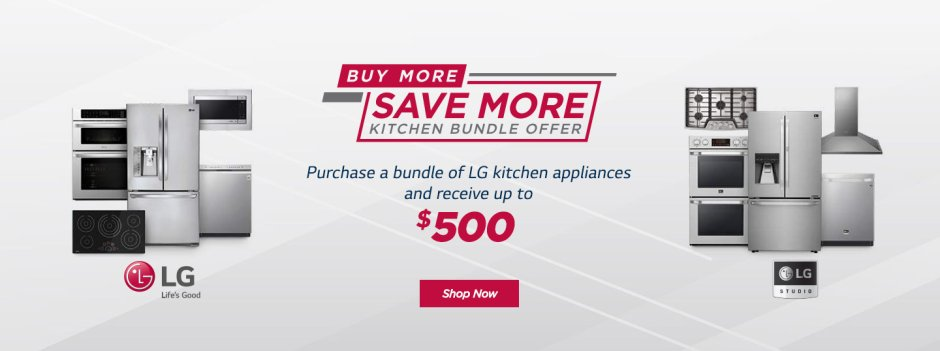 LG Buy More Save More May 2019