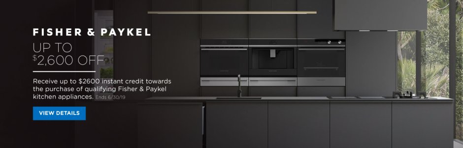 Fisher & Paykel Kitchen Package 2018