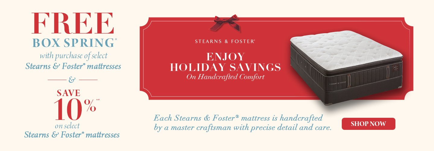 Stearns Foster Post Holiday Event 2018