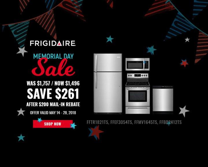 Frigidaire NECO Exclusive Memorial Day 2018