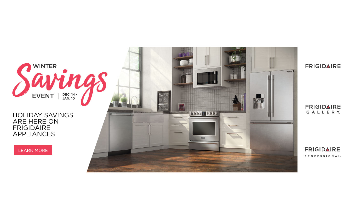Frigidaire Holiday Savings 2017
