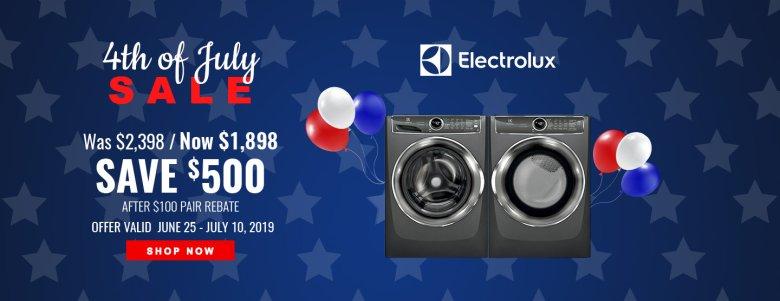 Electrolux / Frigidaire NEAEG July 4th 2019