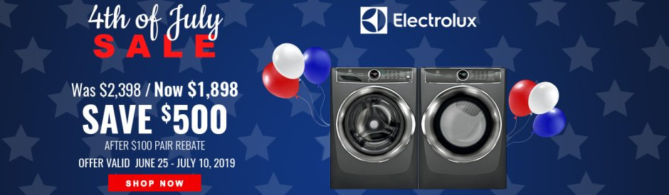 Electrolux / Frigidaire NEAEG July 4th 2019