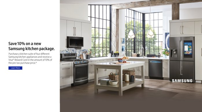 Samsung Summer Kitchen Package 2018