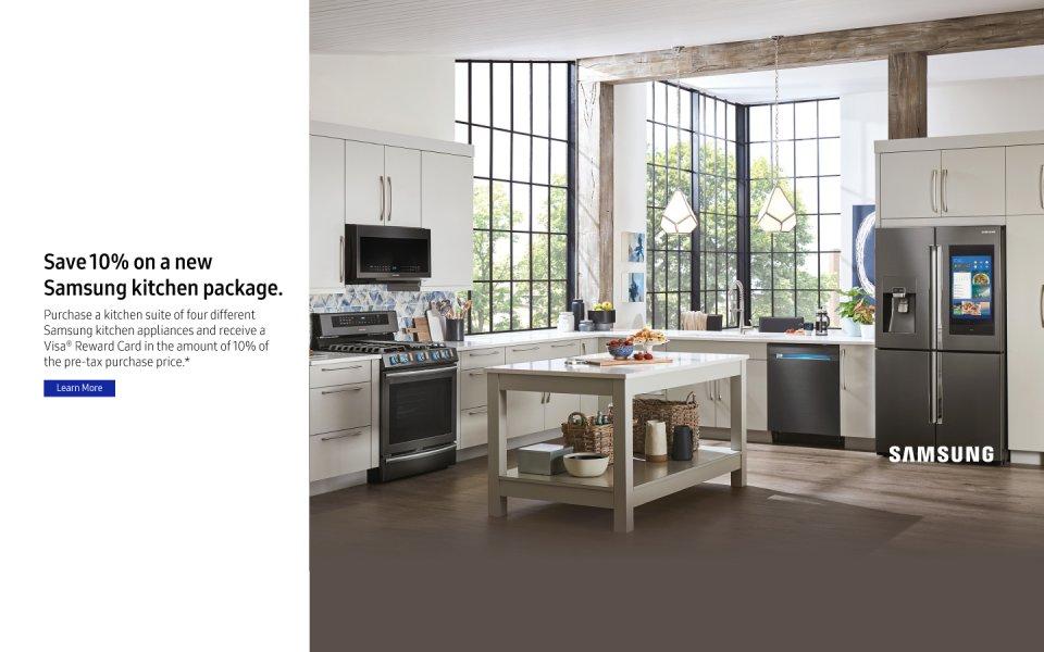 Samsung Summer Kitchen Package 2018