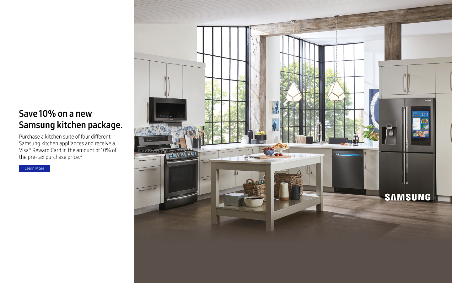 Superbe Samsung Summer Kitchen Package 2018