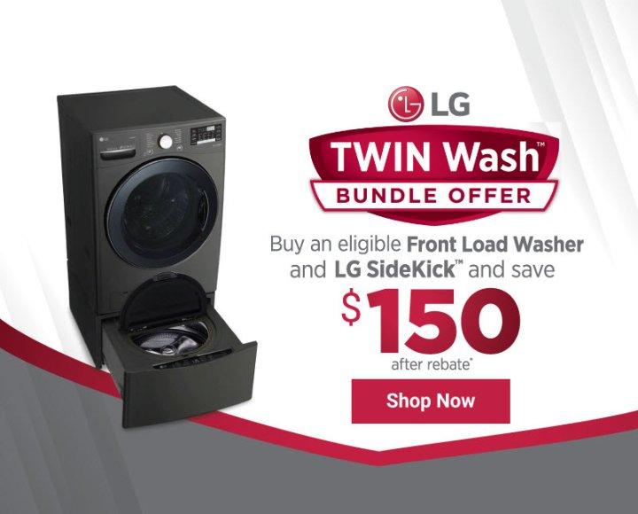 LG TwinWash Bundle Offer Nov 2019